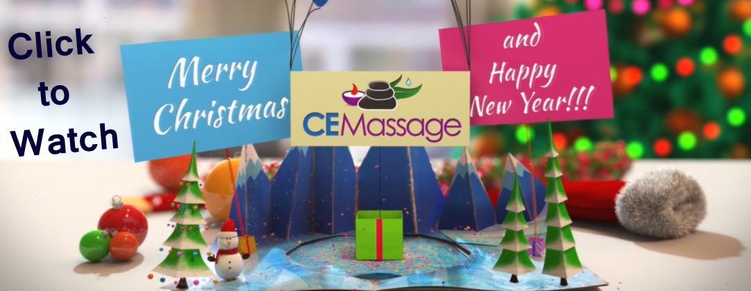 CE Massage's Holiday Greeting for you!
