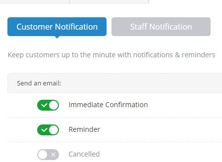 Automatic Email Reminders