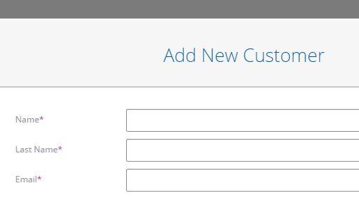 Add Customers